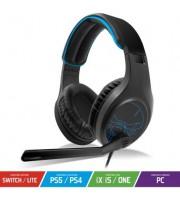 Auriculares Gaming con Micrófono Spirit of Gamer Elite-H20/ Azul