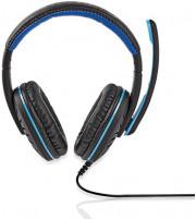 Nedis Auricular para Juegos | Tipo casco | Micrófono | Conectores de 3,5