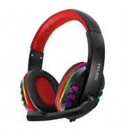 Auriculares Gaming con Micrófono Innjoo Headset/ Jack 3.5/ USB/ Rojo