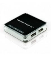 HUB USB CONCEPTRONIC C4USB2 - 4 PUERTOS 2.0 - MAXIMA VELOCIDAD 480MBPS