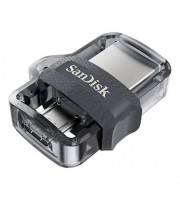 PENDRIVE SANDISK DUAL M3.0 ULTRA - 32GB - CONECTORES USB-A Y MICROUSB - 150MB/S LECTURA - USB 3.0