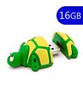 Pen Drive USB x 16 GB Silicona Tortuga